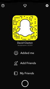 Enable Snapchat save to Camera Roll Stage 1